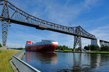 Bild mit Himmel, Gewässer, Schiffe, Brücken, Ostsee, Schiff, Nordsee, Schifffahrt
