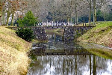 Bild mit Brücke, alt, Wassergräben, laufsteg, Gräben, Altertum, Kanal