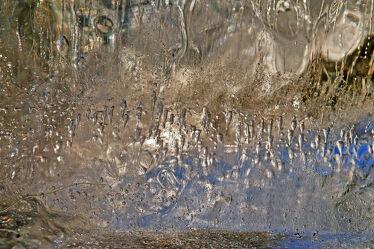 Bild mit Winter, Eis, Makro, Blasen, Luftblasen, Eisscholle, Scholle