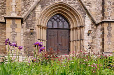 Bild mit Kirche, Ausspannen, eingang, Portal, Hildesheim, Moritzberg, Christuskirche