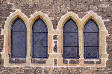 Bild mit Kirchen, Fenster, rustikal, Dom, Gemäuer, Mauerwerk, Hildesheim, Moritzberg, Christuskirche