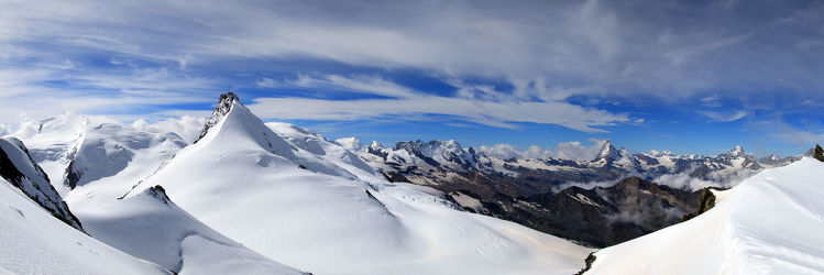 Bild mit Natur, Berge, Schnee, Gletscher, Seen, Nebel, Alm, Alpen, Panorama, Bergsee, See, Elbsandsteingebirge, berg
