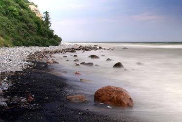 Bild mit Landschaften,Gewässer,Meere,Stein,Ostsee,Meer,Landschaft,Steine,ozean