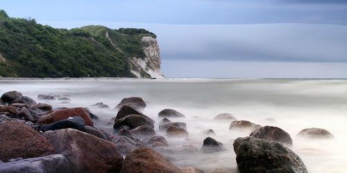 Bild mit Natur, Landschaften, Gewässer, Meere, Stein, Ostsee, Meer, Landschaft, Steine