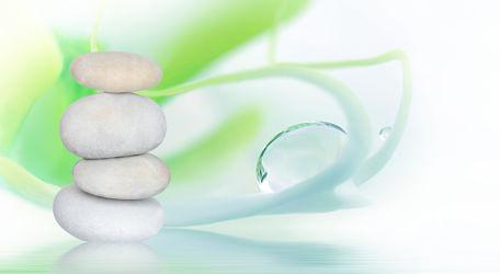 Bild mit Steine, Meditation, Ruhe, Entspannung, Buddha, Wellness, Spa, steinstapel, Steinhaufen, zen