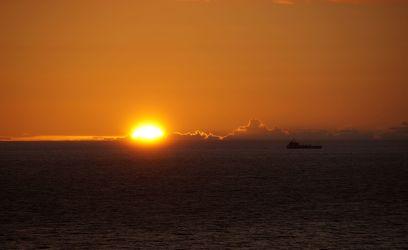 Bild mit Natur, Wasser, Landschaften, Seen, Strände, Sonnenuntergang, Sonnenaufgang, Strand, Ostsee, Meer, See, germany, burning sky, brennender Himmel