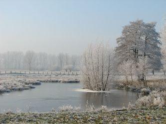 Bild mit Natur, Landschaften, Winter, Schnee, Eis, Wälder, Wald, See, vereist, Kälte, Frost, Winterwelt, gefroren