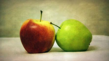 Bild mit Frucht, Obst, Küchenbild, Apfel, Apfel, Stillleben, Küchenbilder, KITCHEN, Küche, Küchen