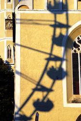 Riesenrad als Schattenbild