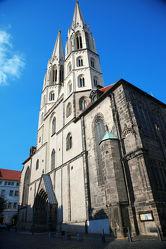 Bild mit Städte, Kirchen, Stadt, Kirche, Görlitz, Peterskirche, Kirchenturm, Kirchentürme, City, Filmstadt, Filmstadt Görlitz, Görliwood, Gottestdienst, Görlitzer Peterskirche