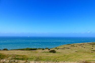 Bild mit Natur, Frankreich, England, Meer, Blauer Himmel, Küste