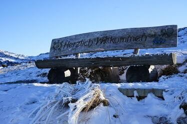 Bild mit Sitzbank, Winteraufnahmen, herzlichkeit