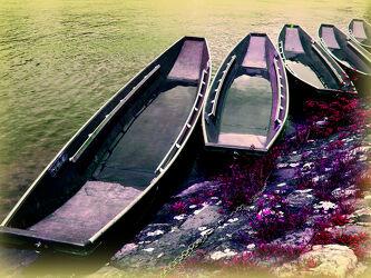 Bild mit Wasser, boot, Steg, Bootssteg, See, Kahn