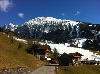 Bild mit Berge, Schnee, Strasse, Ausflugsziel
