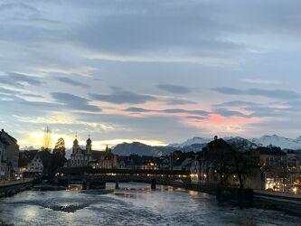 Bild mit Sonnenuntergang, Sonnenaufgang, Stadt, Sonnenschein, Brücke, Fluss
