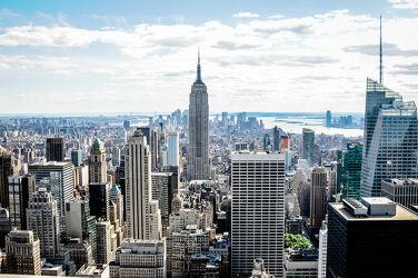 Bild mit New York, Skyline, empire state building