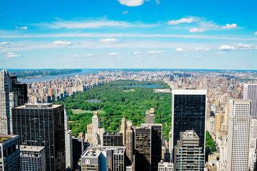 Bild mit Grün, New York, Skyline, aussicht, Central Park
