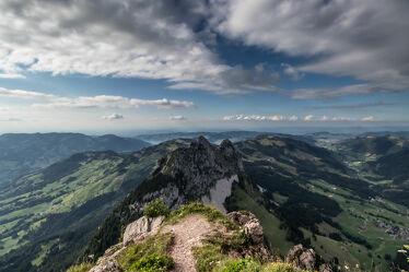 Bild mit Alpen Panorama, Weitblick, Sonnen Himmel, Landschaftspanorama, Berggipfel