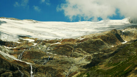 Gletscher in Engadin