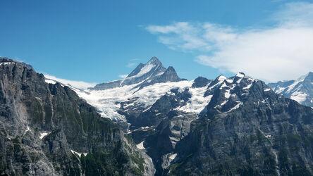 Bild mit Natur, Gletscher, Sommer, Blauer Himmel, Berggipfel, felsenlandschaft, gletschereis