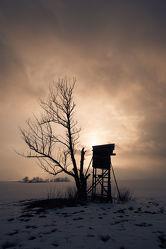 Bild mit Winter, Schnee, Sonnenuntergang, Sonnenaufgang, Stadt, Stadt Görlitz, Görlitz, Görlitz Blick, Hochsitz, City, Goerlitz