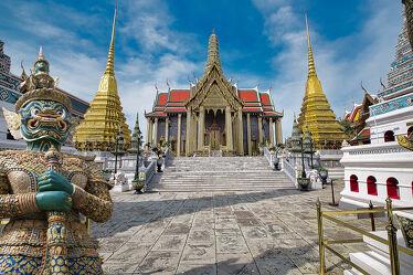 Bild mit Kunst, Tempelanlagen, Religion, Palast, Thailand, Bangkok, Königspalast, Kunstwerke