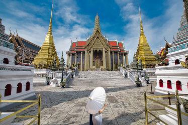 Bild mit Kunstwerk, asien, südostasien, Tempelanlagen, Religion, Kultur, Palast, Thailand, Bangkok, Königspalast