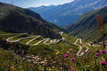 Bild mit Sommer, Strasse, Pass, Gotthardpass