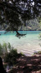 Bild mit Wasser, Gewässer, Seen, Waldsee, Bergsee