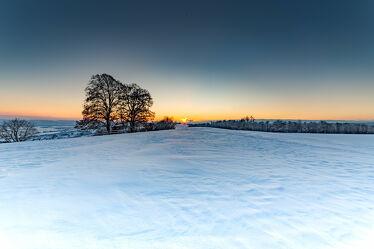 Bild mit Winter, Schnee, Schnee, Sonnenuntergang, winterlandschaft, Schaffhausen