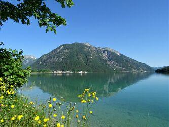 Bild mit Berge, Urlaub, Tirol, Ferien, Bergsee, Europa, austria, Pertisau, Achensee