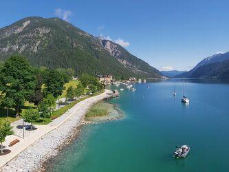 Bild mit Berge, Urlaub, Tirol, Österreich, Ferien, See, Ort, austria, Berglandschaft, Achensee
