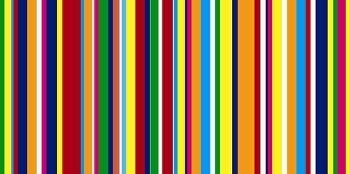 Bild mit Farben, Gelb, Grün