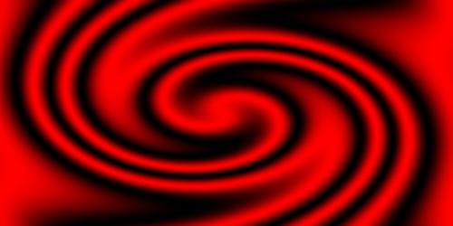 Bild mit Farben, Gegenstände, Kunst, Rot, Figuren und Formen, Spiralen, Abstrakt, Abstrakte Kunst, Abstrakte Malerei, Kunstwerk, Retro, Abstraktes