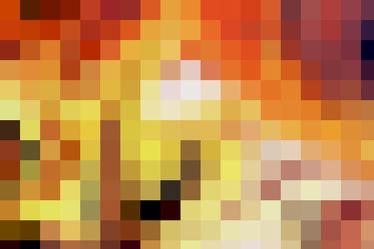 Bild mit Farben,Orange,Gelb