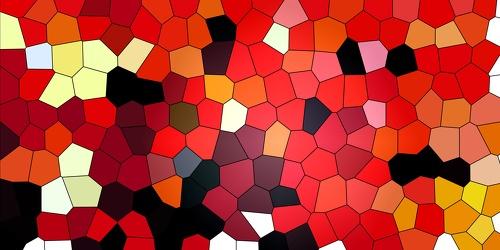 Bild mit Farben,Orange,Rot,Abstrakt,Abstrakte Kunst,Abstrakte Malerei