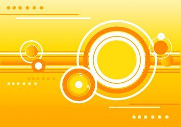 Bild mit Farben,Orange,Gelb,Gegenstände,Schriftstücke,Schriften,Schmuck,Bernsteine