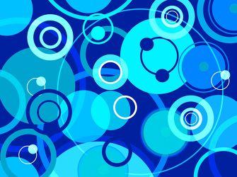 Bild mit Farben, Kunst, Blau, Türkis, Illustration, Abstrakt, Abstrakte Kunst, Abstrakte Malerei, Kunstwerk, Retro