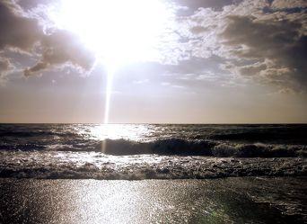 Bild mit Wasser, Gewässer, Küsten und Ufer, Meere, Strände, Brandung, Wellen, Am Meer, VINTAGE