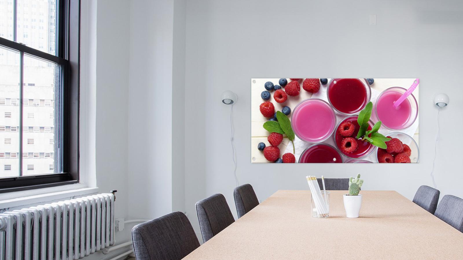 Selbst gestalteter Fotobanner als Raum-Impression chairs-2181923